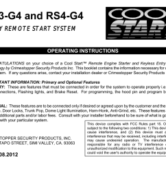 crimestopper rs 4 operating instructions [ 1024 x 791 Pixel ]