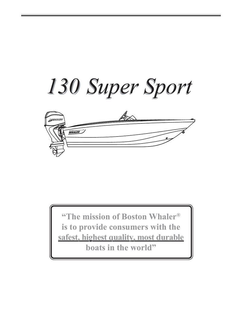 hight resolution of boston whaler 130 super sport owner s manual