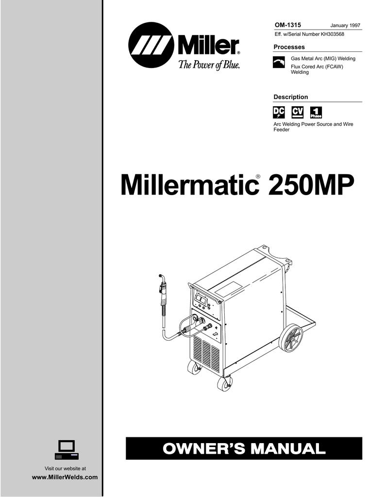 [WRG-7159] Miller 30a Wiring Diagram