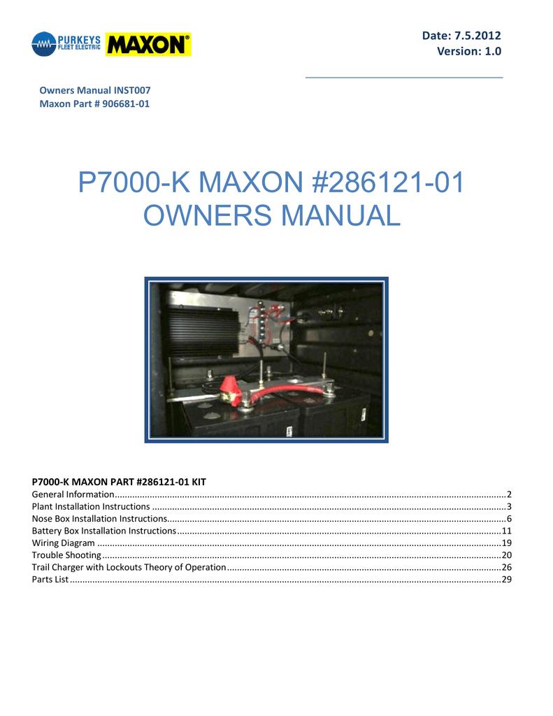 medium resolution of maxon p7000 k owner s manual