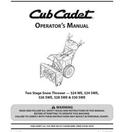 cub cadet 530 swe operator s manual [ 791 x 1024 Pixel ]