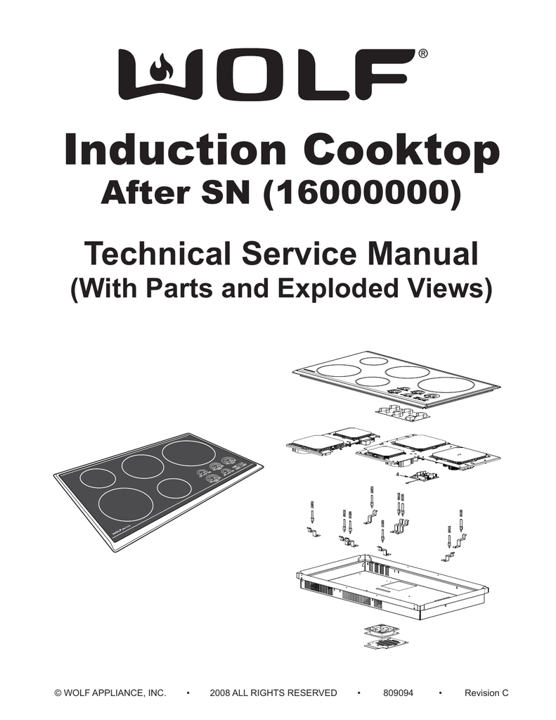 medium resolution of wolf ct36i s service manual