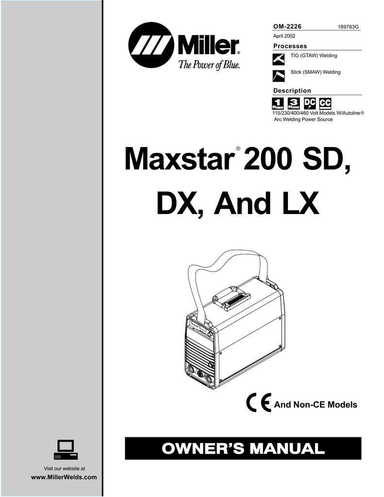 medium resolution of miller maxstar 200 wiring diagram