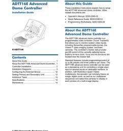 american dynamics adtt16 installation guide [ 791 x 1024 Pixel ]