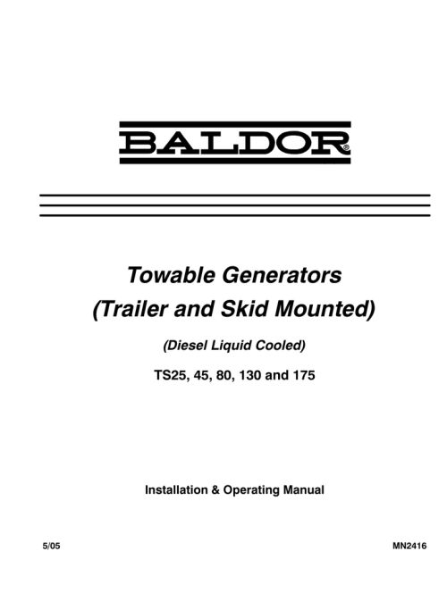 small resolution of baldor ts80 owner s manual