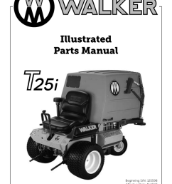walker mower mt wiring diagram [ 791 x 1024 Pixel ]