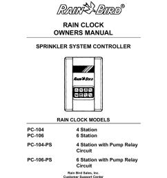 rain bird pc 206 ps programming instructions [ 791 x 1024 Pixel ]