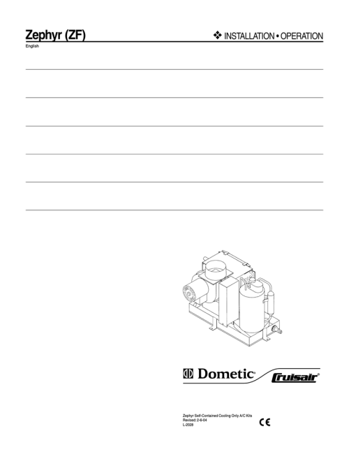 small resolution of cruisair split diagram
