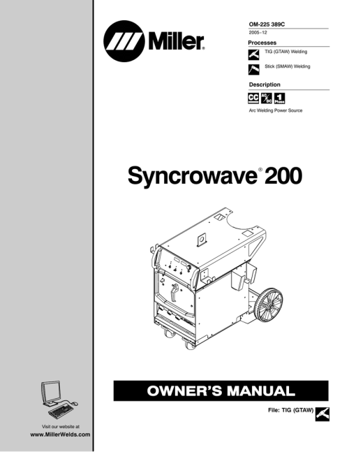 small resolution of miller syncrowave 200 wiring diagram