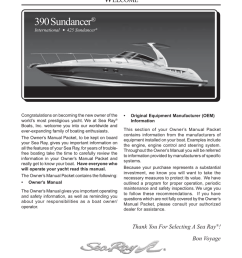 sea ray 390 sundancer owner s manual manualzz com wiring diagram sea ray 290 sundancer get free image about wiring [ 791 x 1024 Pixel ]