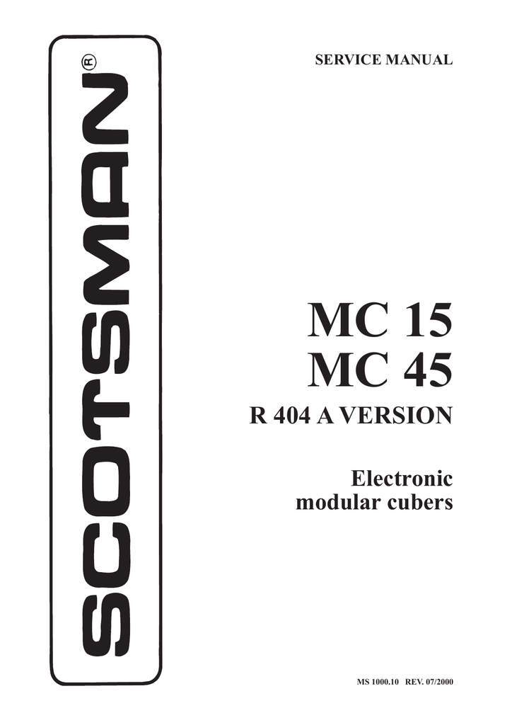 Scotsman Ice Machine Wiring Diagram : 35 Wiring Diagram
