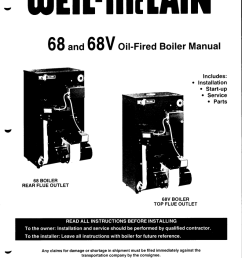 68 and 68v oil fired boiler manual [ 792 x 1024 Pixel ]
