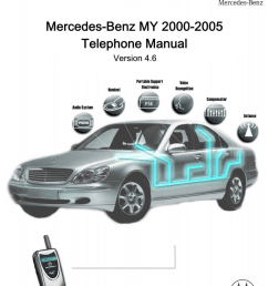motorola integrated morterola timeport digital cellular telephone for mercedes benz installation guide [ 809 x 1024 Pixel ]