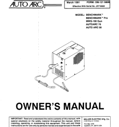 miller electric auto arc mwg 160b specifications [ 794 x 1024 Pixel ]