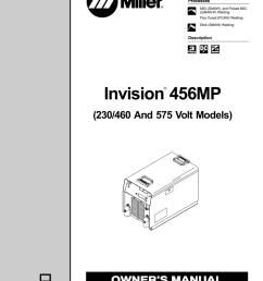 miller electric invision 456mp owner s manual manualzz com miller tig welding miller maxstar 200 wiring diagram [ 791 x 1024 Pixel ]