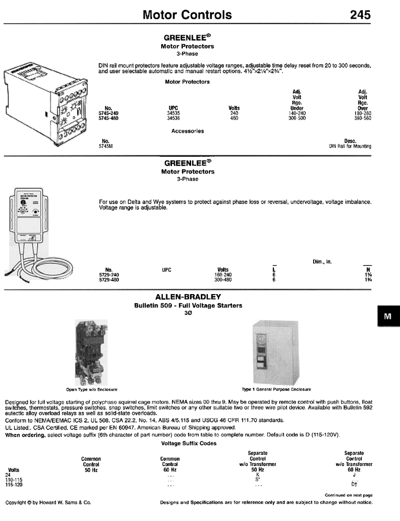 hight resolution of motor controls 245 332 kelly hayes electrical supply