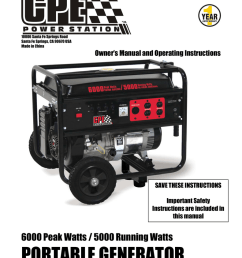 champion power equipment 41111 owner s manual [ 791 x 1024 Pixel ]