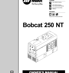 miller bobcat 250 wiring diagram wiring diagram paperbobcat s250 wiring diagrams 13 [ 791 x 1024 Pixel ]