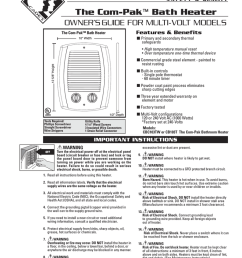 cadet the com pak bath heater cb103t troubleshooting guide manualzz com [ 791 x 1024 Pixel ]