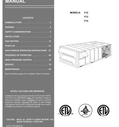 york millennium y14 installation manual manualzz com [ 791 x 1024 Pixel ]