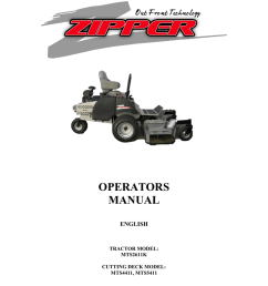 zipper mowers mts2611k owner s manual [ 791 x 1024 Pixel ]