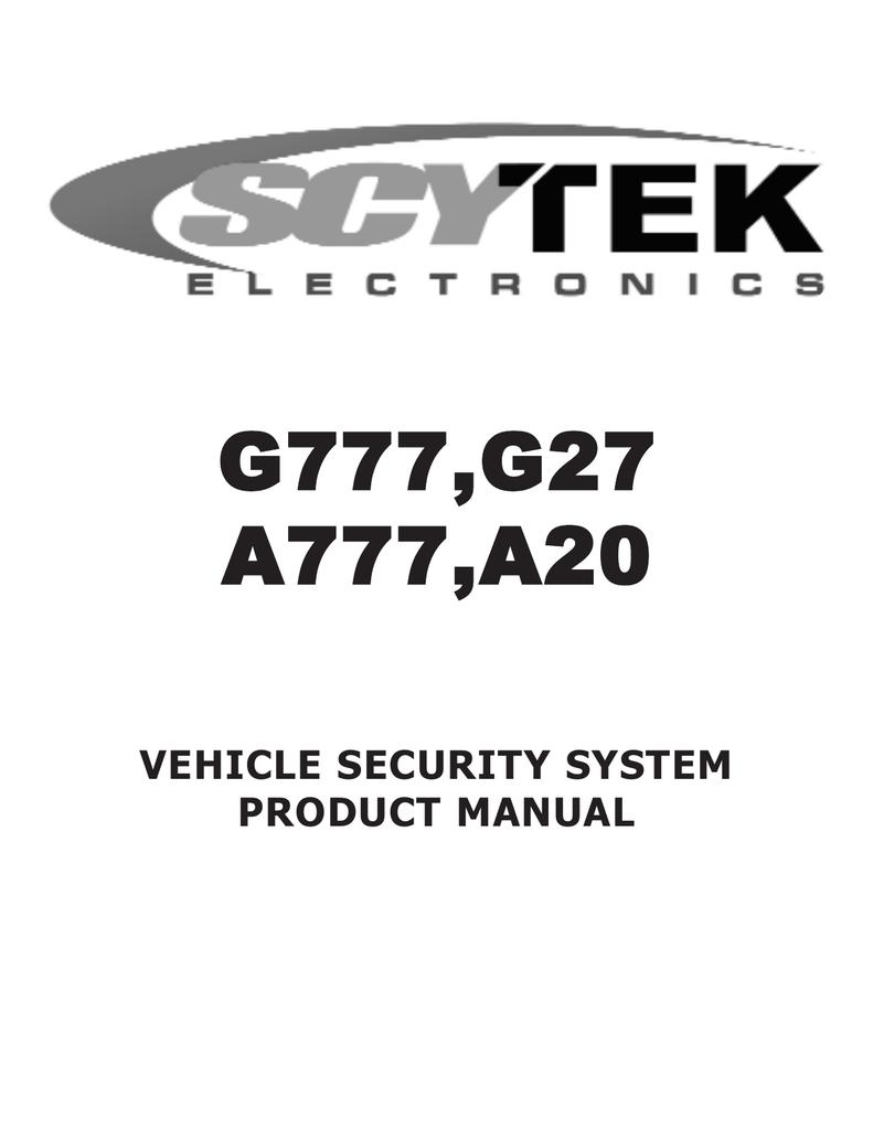 medium resolution of scytek electronic a20 product manual