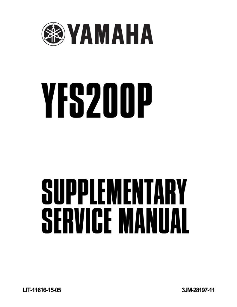 medium resolution of yamaha blaster yfs200p service manual