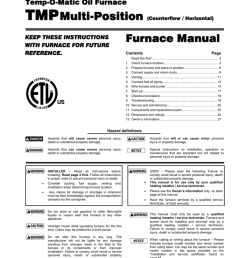 williamson tmp 105 specifications [ 791 x 1024 Pixel ]