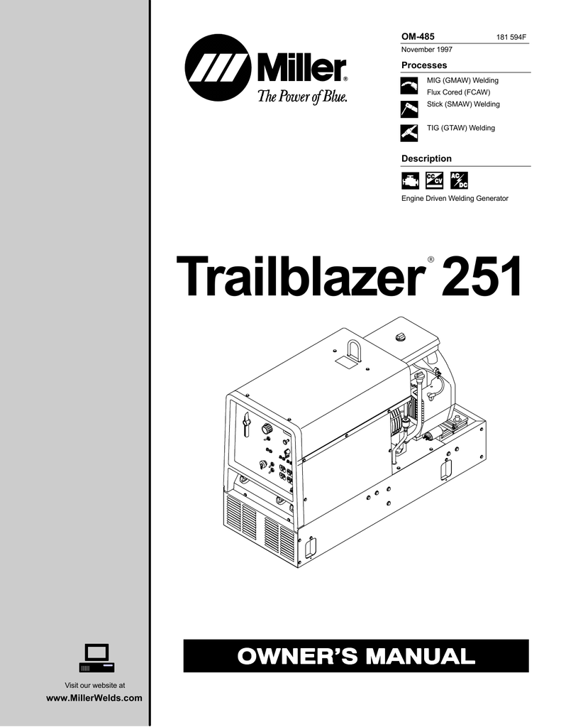 [WRG-3746] Miller Trailblazer Engine Diagram