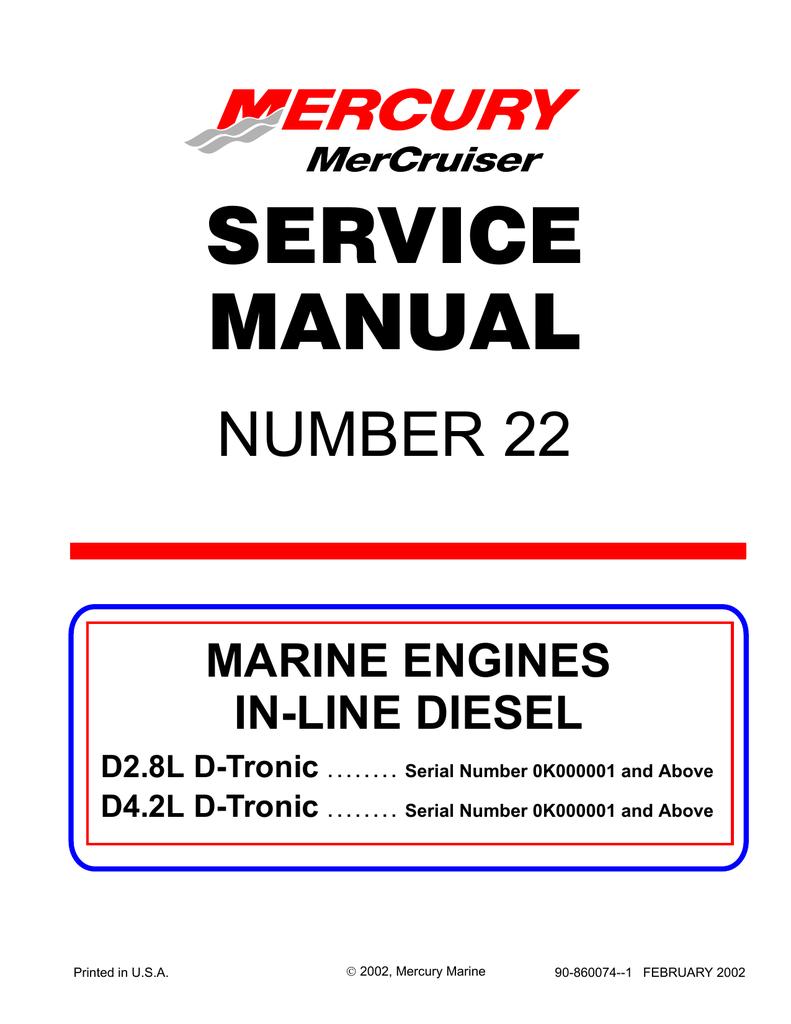 hight resolution of mercury d4 2l d tronic service manual
