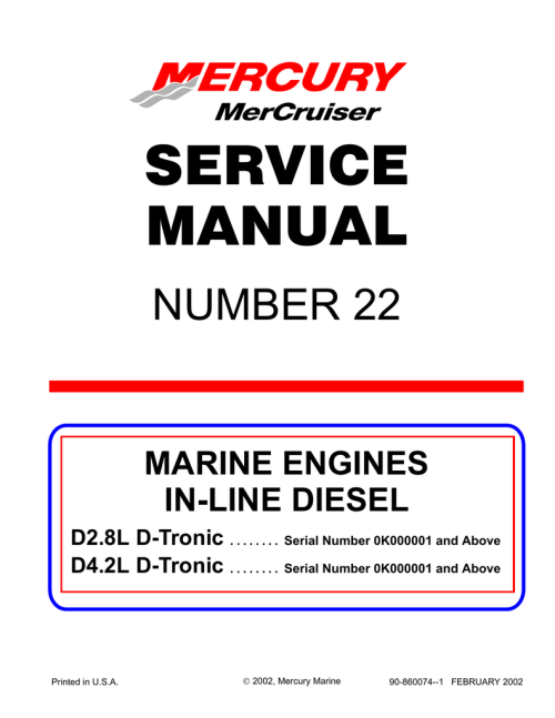 small resolution of mercury d4 2l d tronic service manual