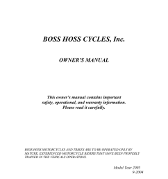 boss hoss cycles year 2005 owner s manual manualzz com boss hoss trike wiring diagram [ 791 x 1024 Pixel ]