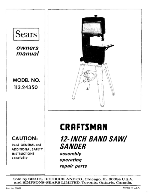 small resolution of general band saw wiring diagram 18