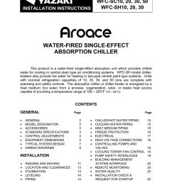 yazaki aroace wfc sh30 specifications [ 791 x 1024 Pixel ]
