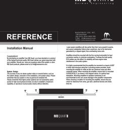 mb quart ref4 80 installation manual [ 791 x 1024 Pixel ]