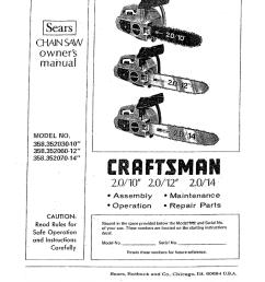 craftsman 358 352060 owner s manual [ 802 x 1024 Pixel ]