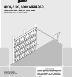wayne dalton 8000 series owner s manual [ 791 x 1024 Pixel ]