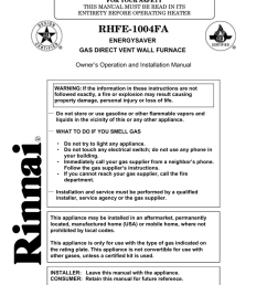 rinnai rhfe 1001fa installation manual [ 791 x 1024 Pixel ]
