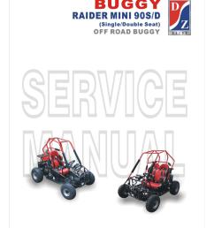 dazon raider mini 90d service manual [ 791 x 1024 Pixel ]