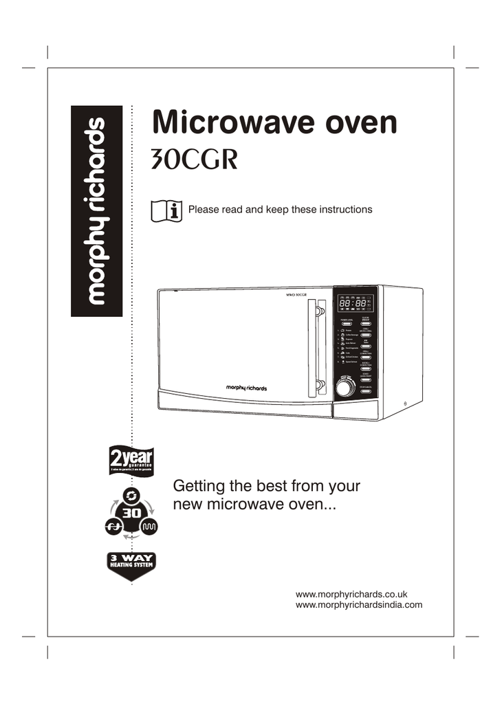 Microwave Specifications