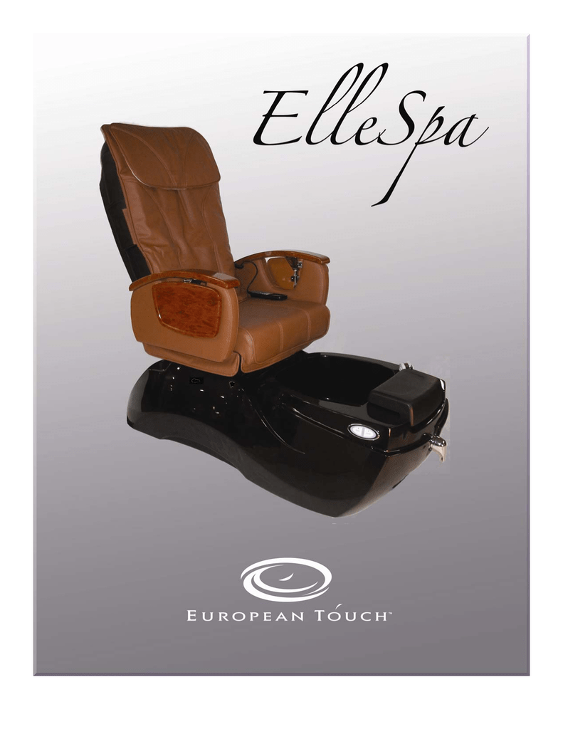 European Touch Pedicure Chair European Touch Pedicure Spa Specifications Manualzz