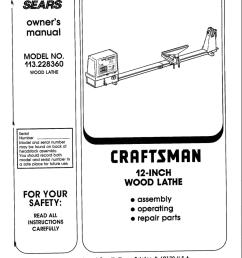 craftsman 113 228360 owner s manual [ 792 x 1024 Pixel ]