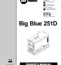 miller big blue 251d owner s manual [ 791 x 1024 Pixel ]