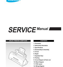 samsung sf 4300c service manual [ 791 x 1024 Pixel ]