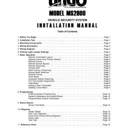 clarion ungo ms8300 installation manual manualzz com ungo car alarm wiring diagram  [ 791 x 1024 Pixel ]