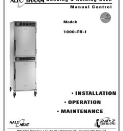 alto shaam 1000 th i oven user manual [ 791 x 1024 Pixel ]