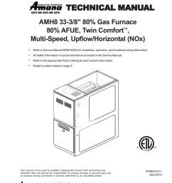 amana amh furnace user manual manualzz com amana furnace parts near me amana amh  [ 791 x 1024 Pixel ]