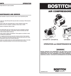 bostitch 122603reva 6 01 air compressor user manual [ 1024 x 791 Pixel ]