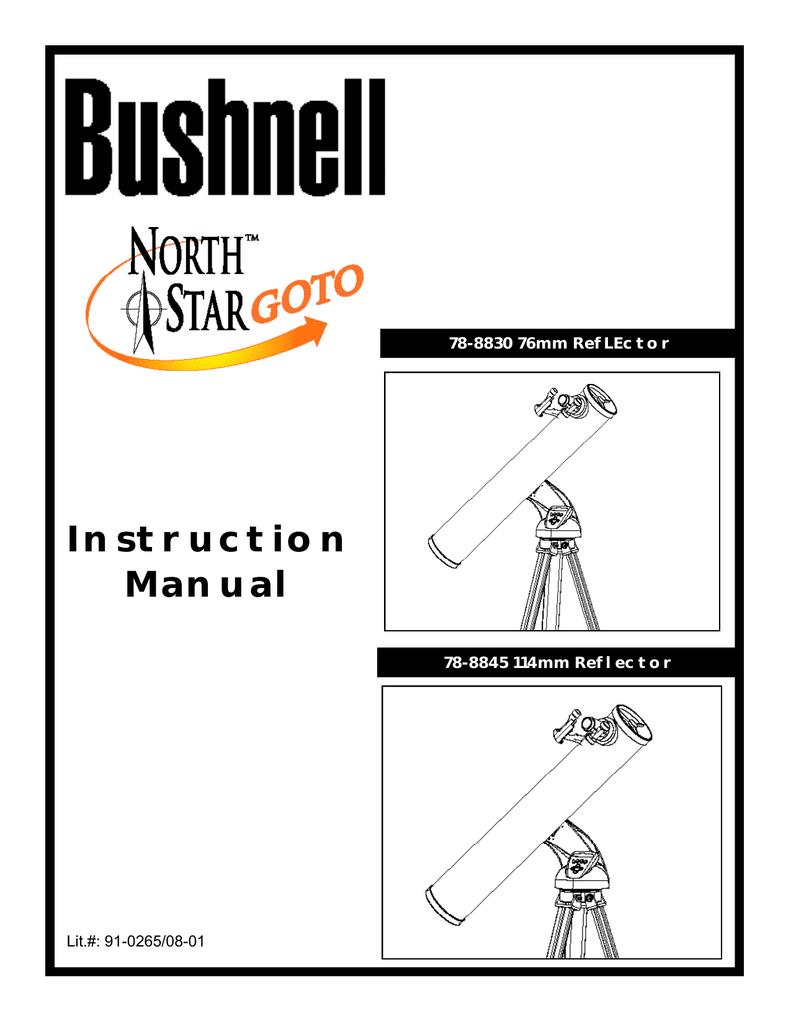 bushnell user manual