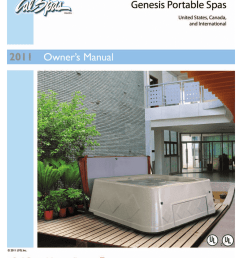 cal spas ltr20111058 hot tub user manual [ 791 x 1024 Pixel ]